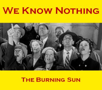 Cover - Burning Sun