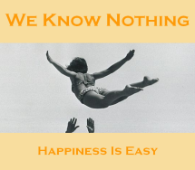 Cover - Happiness Is Easy