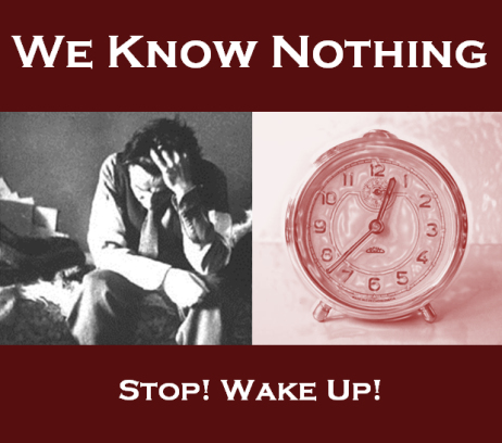 Cover - Stop! Wake Up!
